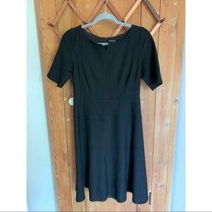 Nanette Lepore Anthropologie black dress